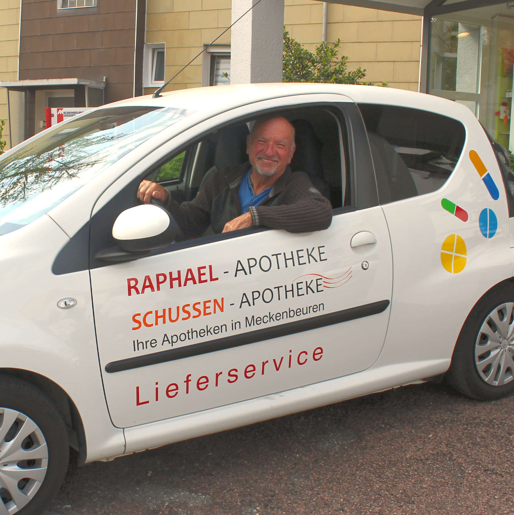 Hans Keckeisen, Fahrer Raphael Apotheke Meckenbeuren